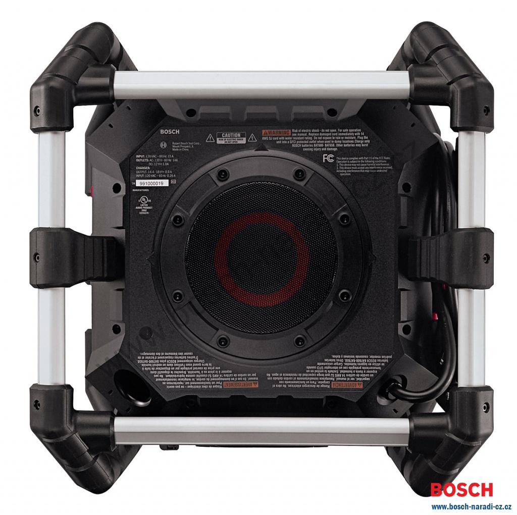 Radio s nabíječkou Bosch GML 50 Professional - BOSCH NÁŘADÍ CZ